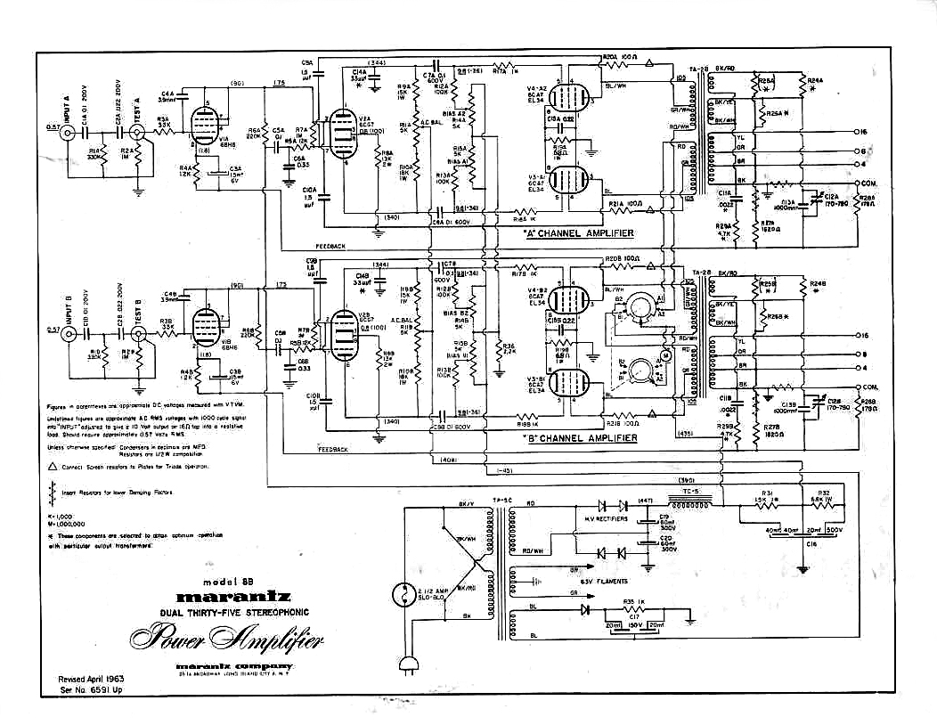 Dave Liry 16 Marantz B Schematic on marantz 8b amplifier, fisher x 1000 schematic, mcintosh mc275 schematic, marantz 8b power supply,